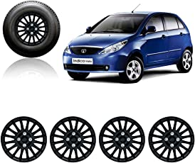 Auto Pearl FB_14WC_Camry_Vista 14-inch Wheel Cover Cap for Tata Indica Vista (Set of 4)