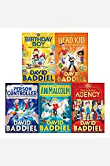 David Baddiel 5 Books Collection Set Person Controller Birthday Boy AniMalcolm Paperback