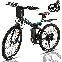 VIVI 350W Elektrofahrrad Herren 26 Zoll Faltbares E Bike Mountainbike, Elektrofahrrad Klappbar Abnehmbare 36V/8Ah…