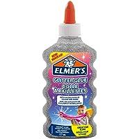 Elmer's colle pailletée, argent, lavable et adaptée aux enfants, 177 ml - Parfaite pour fabriquer du slime