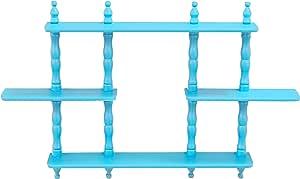 Blue Frenchi Home Furnishing Kids 4-Tier Shelves
