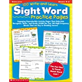 100 Write-And-Learn Sight Word Practice Pages: Engaging Reproducible Activity Pages That Help Kids Recognize, Write, and Real