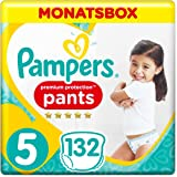 Pampers Premium Protection Pants Größe 5, 132 Windeln, 1 Monatsbox