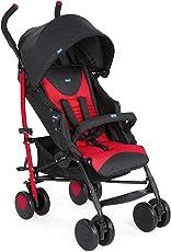 Chicco New Echo Stroller W/Bumper Bar Scarlet