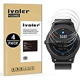 iVoler [4 Stuks] Beschermfolie Compatibel met Ticwatch 2 / Ticwatch E2 Smartwatch Screen Protector, Film van Gehard Glas Sche