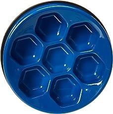 AmazonBasics Dog Slow Feeder Bowl for Anti-Bloating,Soccer Ball-Blue