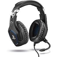 Trust Gaming GXT 488 Forze Cuffie PS4 e PS5 con Licenza Ufficiale PlayStation, Microfono Ripiegabile e Archetto…