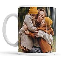 Tasse Mug Instant Photo layout mug personnalisé avec collage photo, 1 Foto, Blanc