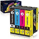 ONEINK 603XL Cartouches d'encre Remplacement pour Epson 603 XL Compatible avec Expression Home XP-2100 XP-2105 XP-3100 XP-310
