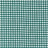 Baumwollstoff Hahnentritt weiß grün