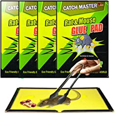 India Best Seller Rat Non Toxic Glue Pad with Picker and Food - Pack of 4