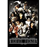 VVWV The Original Legend King Posters Legend Dancer Inspirational Wall Stickers W X H 12 X 18 Inches