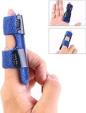 ULTNICE Finger Splint Finger Extension Splint Finger Brace for Trigger Finger Mallet Finger Finger Fractures Pain Relief from Stenosing Tenosynovitis
