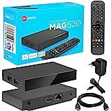 MAG 520 Original Infomir & HB-DIGITAL 4K IPTV Set TOP Box Multimedia Player Internet TV IP Receiver # 4K UHD 60FPS 2160p @60