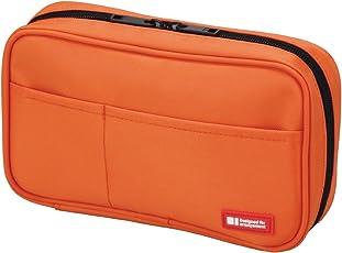 Lihitlab Pen Case, 7.9 X 2 X 4.7 Inches, Orange (A7551-4)