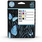 HP 903 4-pack Black/Cyan/Magenta/Yellow Original Ink Cartridges