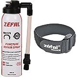 Zefal 1128 Reparatie Spray Instant Inflatie en Strap-Zwart, 100ml, 100 ml