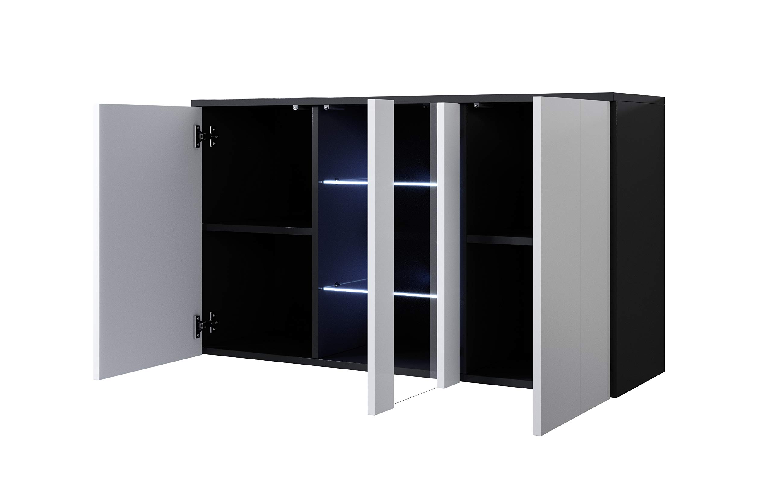 Credenza Con Led : Muebles bonitos letti e mobili credenza modello luke a con led