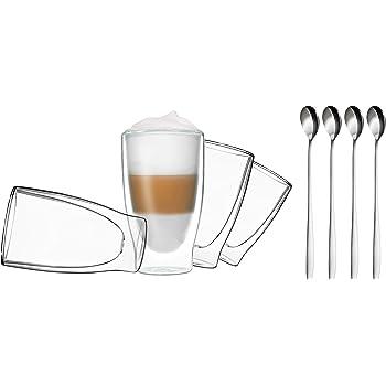 tchibo cafissimo gl ser doppelwandiges thermoglas 2er set latte macchiato gl ser. Black Bedroom Furniture Sets. Home Design Ideas