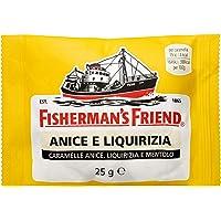 Fisherman's Anice Liquirizia Busta Gialla 10 pezzi - La caramella dolce ma fortissima in sole 4 calorie