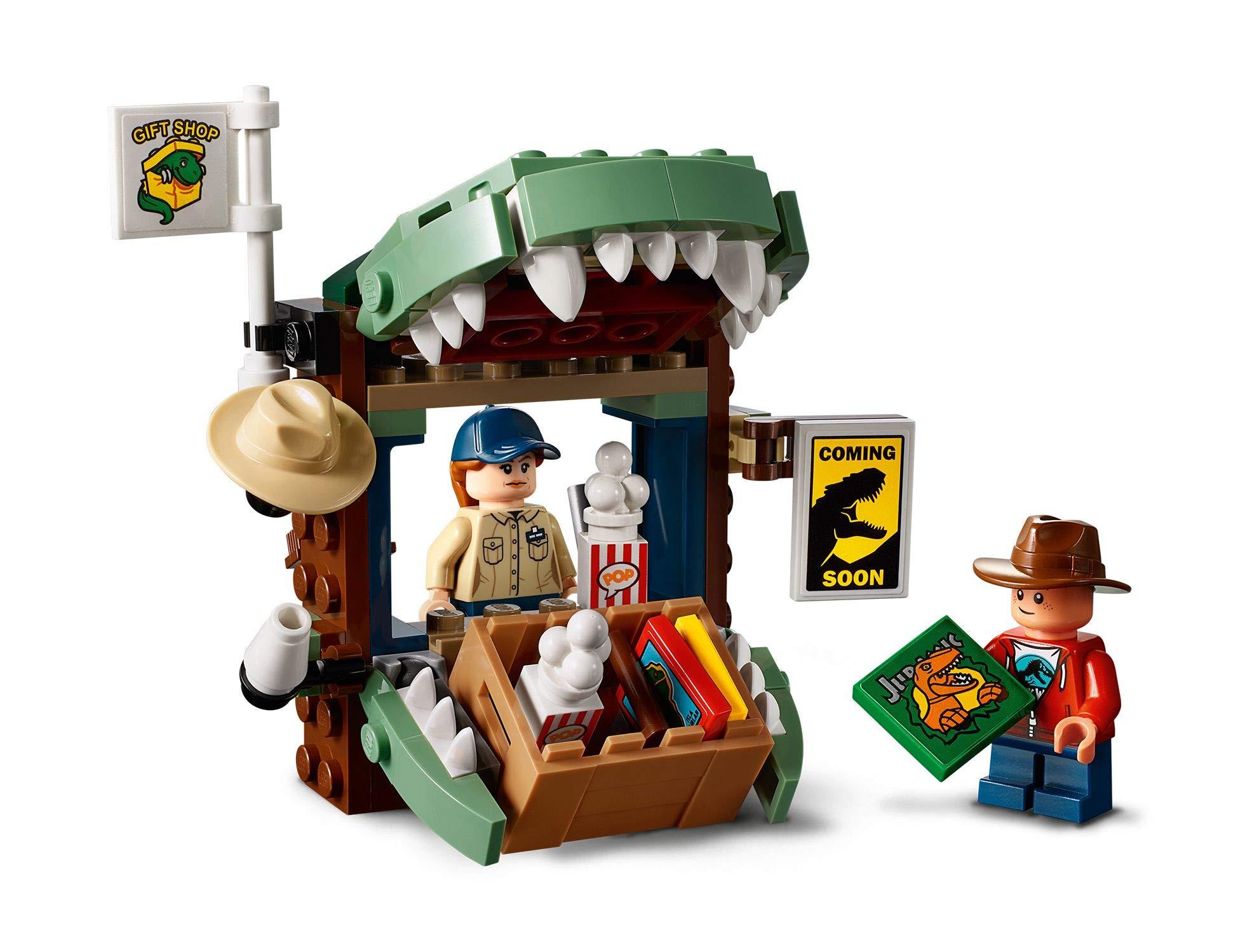 LEGO Jurassic World - Gioco per Bambini Dilofosauro in Fuga, Multicolore, 6250526 4 spesavip