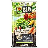 Compo Sana 4008398315207 Bio Terriccio per orto e semina Confezione da 50 Litri