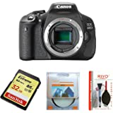 Canon EOS 600D Digital SLR Camera (Body Only) (Certified Refurbished)