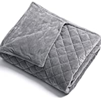 Anjee Removable Duvet Cover for Weighted Blankets Inner Layer to Keep Clean   JUST Cover Ultra-Soft   Easy Care   Grey Crossing  48 x 72 Inches