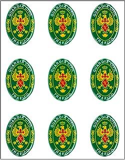 Autocollant ovale Logo Guardia Civil 45/x 65/mm