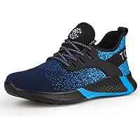 AONETIGER® Chaussure de Sécurité Homme Femme S3 Légères Chaussures de Travail avec Embout de Protection en Acier…