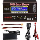 FancyWhoop B6 V3 Lipo Cargador de Batería 80W 6A RC Descargador de Batería para LiPo Li-Ion Life NiCd NiMH LiHV PB RC Hobby C