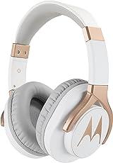 Motorola Pulse 3 Max Wired Headphones with One Touch Amazon Alexa (White)