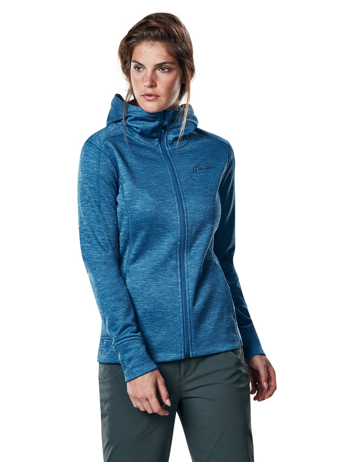 71iviqT1fkL - Berghaus Women's Kamloops Full Zip Fleece Jacket