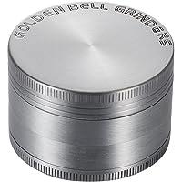 Golden Bell  Grinder Garanzia a Vita  2 rdquo  50mm  Spezie Erbe Grinder in 4 Pezzi Tritino in Metallo   Argento antico