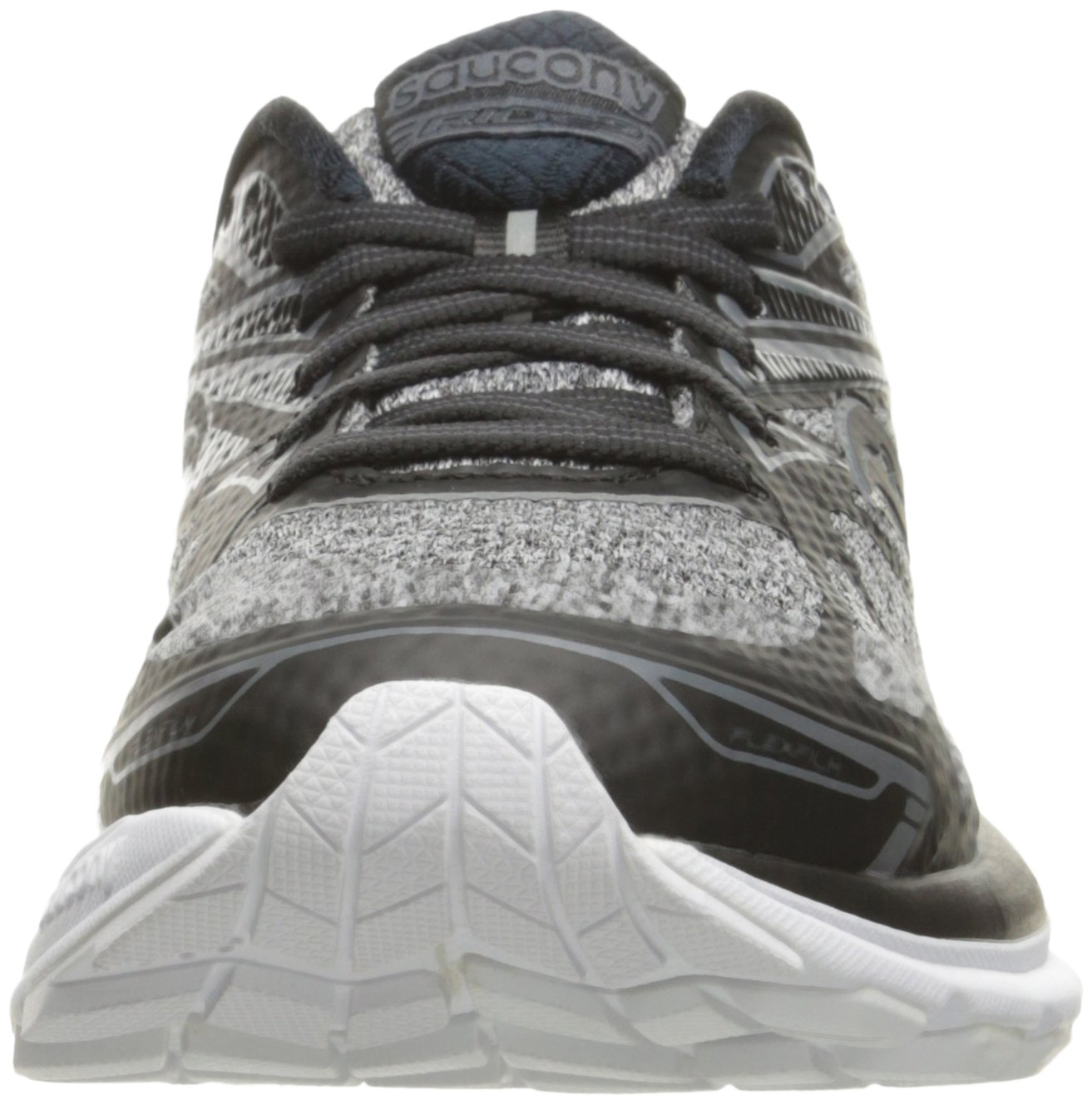 71iw%2BTd%2BxvL - Saucony Women's Ride 9 Lr Running Shoe, Grey/Black, 5 M US