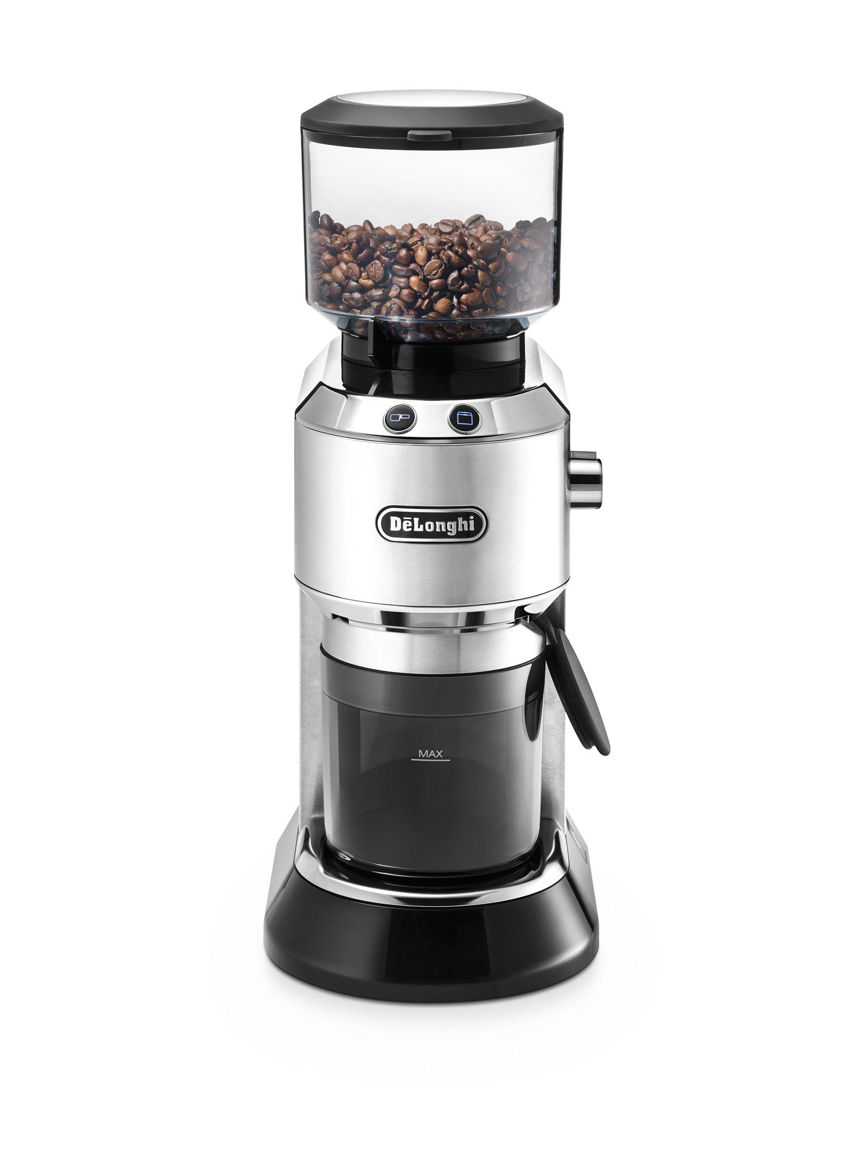 De´Longhi KG 520.M Kaffeemühle, Kunststoff, silber