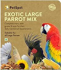 Dogspot PetSpot Exotic Parrot Mix, 800 g (Large)