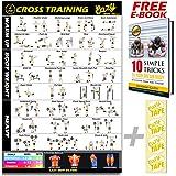 Póster de ejercicio de peso corporal, entrenamiento total del ...