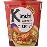 Nongshim Fideos Instantáneos Sopa Kim Chi 12x75gr