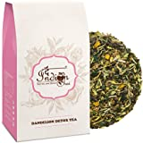 The Indian Chai – Dandelion Detox Tea 50g for Cleansing Liver, Supports Kidney Function and Digestive Health, Powerhouse of Antioxidants