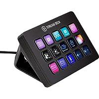 Elgato Stream Deck MK.2 - das Tastenfeld für ultimative Kontrolle; 15 anpassbare LCD-Tasten; Aktionen in Apps, OBS…