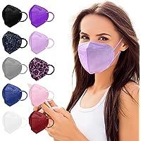 FFP2 Masken Bunt FFP2 Maske CE Zertifiziert 10 Farben 10 Stück, FFP2 Maske Schwarz Grau Blau Rosa Lila Grün Weiß usw…