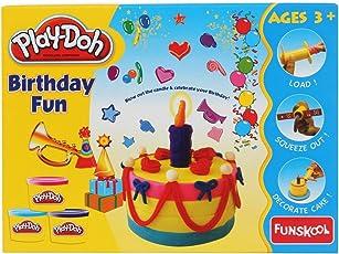 Funskool Birthday Fun Play Doh - Pack of 1, F