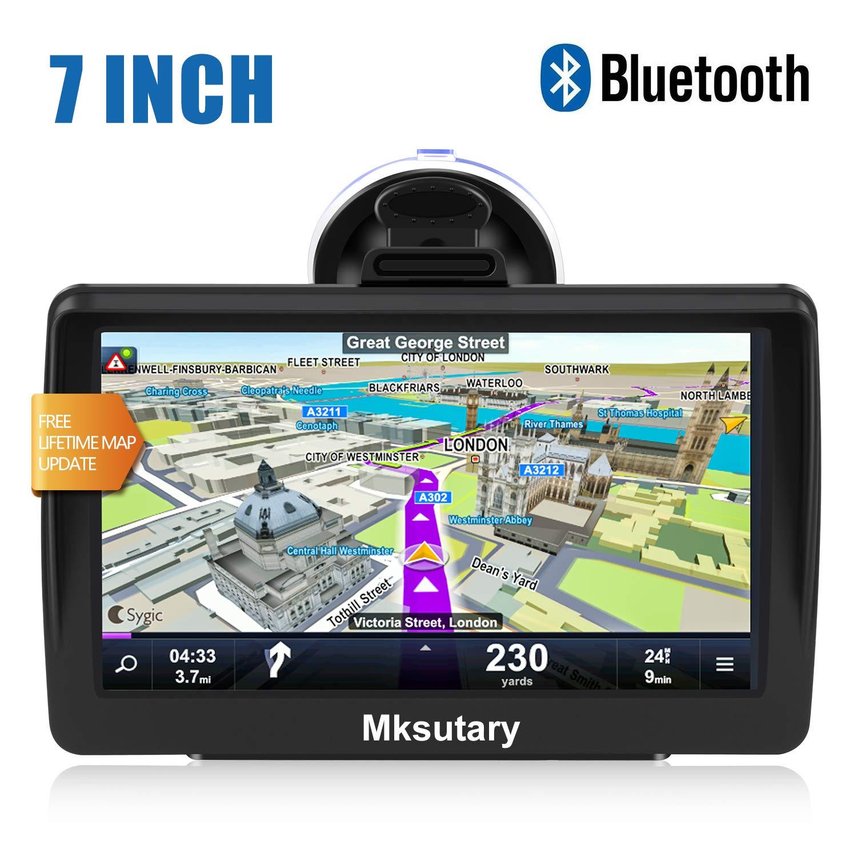 GPS Voiture 7 Pouces Ecran Tactile Cartographie Europe 52 /à Vie Mise /à Jour Gratuite /à Vie