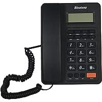 Binatone Spirit 221 Basic Corded Landline Phone with Display for Office & Home (Black)