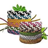 MTSBW 5Pcs Bracelet Anti-Moustique, Ultrasons Anti-Moustiques Wristband, À Base D'huile Végétale Pure Naturelle, Très Appropr