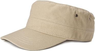 styleBREAKER Cap im Military-Stil aus robustem Baumwollcanvas, verstellbar, Unisex 04023020