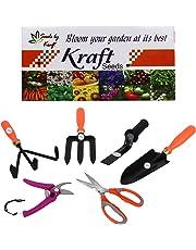 Kraft Seeds 6 in 1 Garden Tool Kit