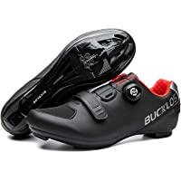 BUCKLOS Road Bike Shoes Compatible with Peloton, Micro Adjustment Dial System Men Women Cycling Shoes Breathable Bicycle…