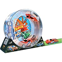 Vivir Double Pull Back Power Track Set for Kids